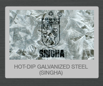 Hot Dip Galvanized Steel - Singha